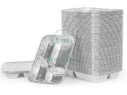 铝箔四格快餐盒BTL:4-2318