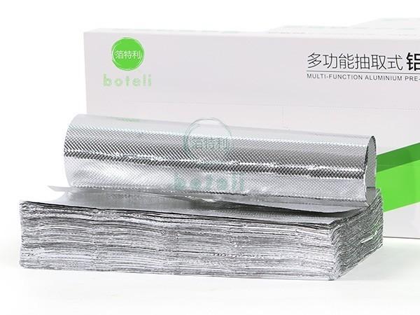 铝箔抽纸BTL100抽(22.5x27.3cm)