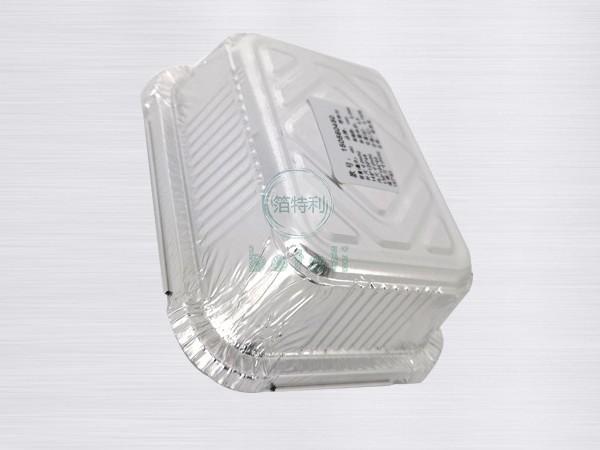 长方形铝箔容器