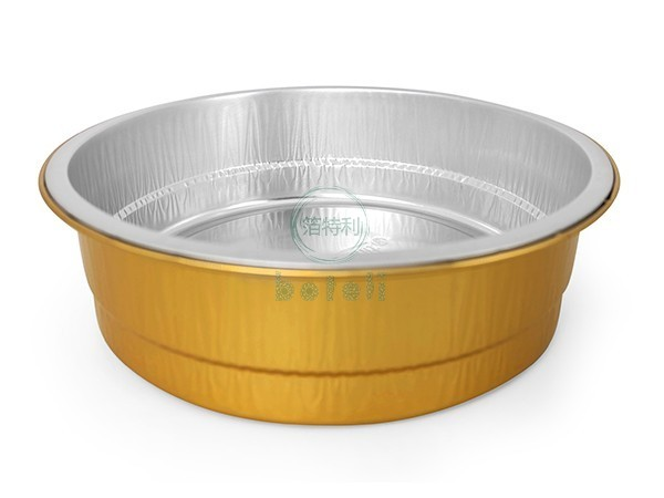 金色铝箔容器BTY180