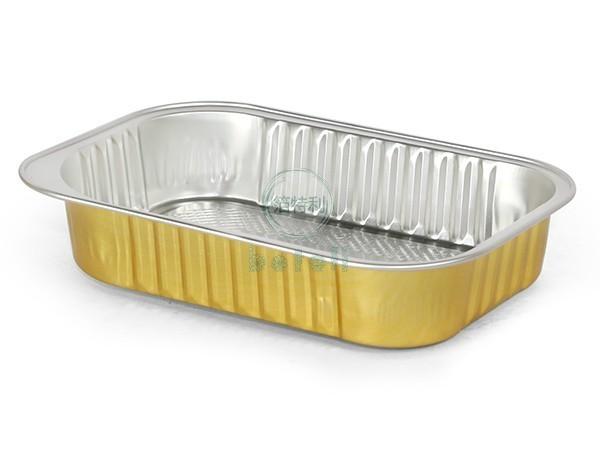 金色铝箔容器BTY1611-1