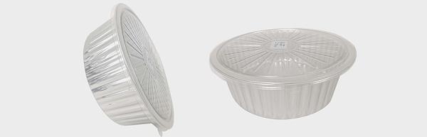 银色铝箔容器小龙虾打包盒